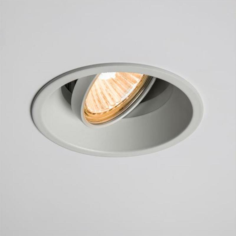 Astro 39 Minima Fixed 39 230v Recessed Ip20 Downlight White Finish 5643 From Easy Lighting