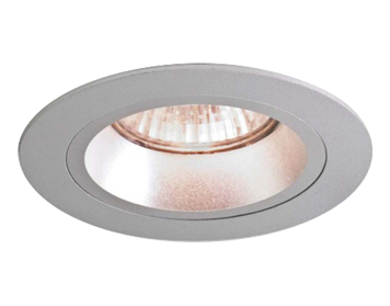 Astro Taro Round Fire Rated Fixed Downlight, Brushed Aluminium Finish - 5671