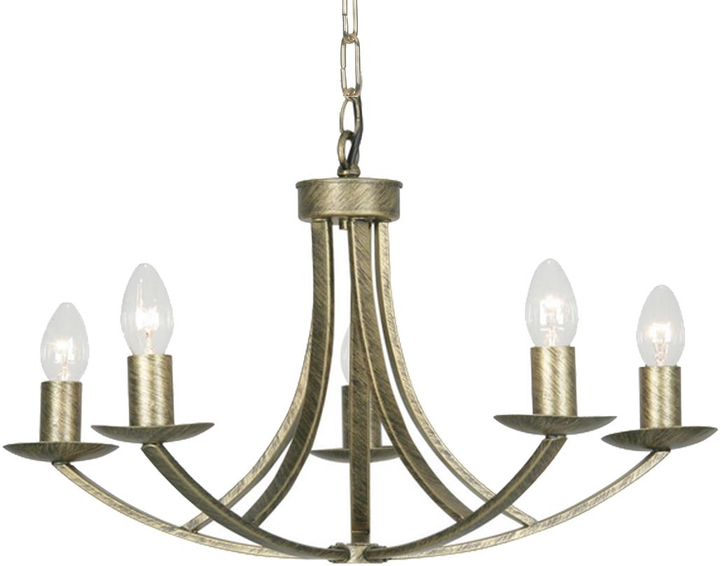 Oaks Lighting Caro Wall Light, Brushed Gold - 5673/1 BB from Easy Lighting