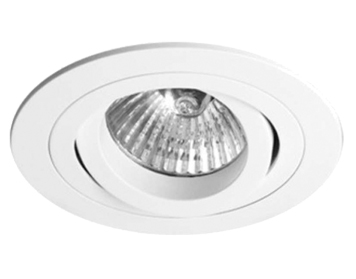 Astro Taro Round Fire Rated Adjustable Downlight, Matt White Finish - 5676