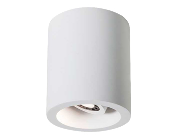 Astro Osca 140 Round LED Ceiling Downlight, Plaster Finish - 5685