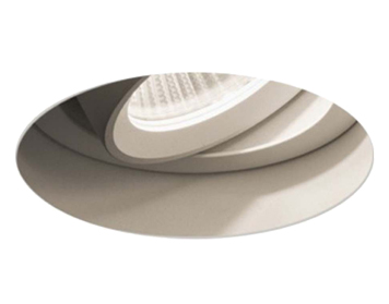 Astro Trimless Round Adjustable LED Recess Spotlight, Textured White Finish - 5700