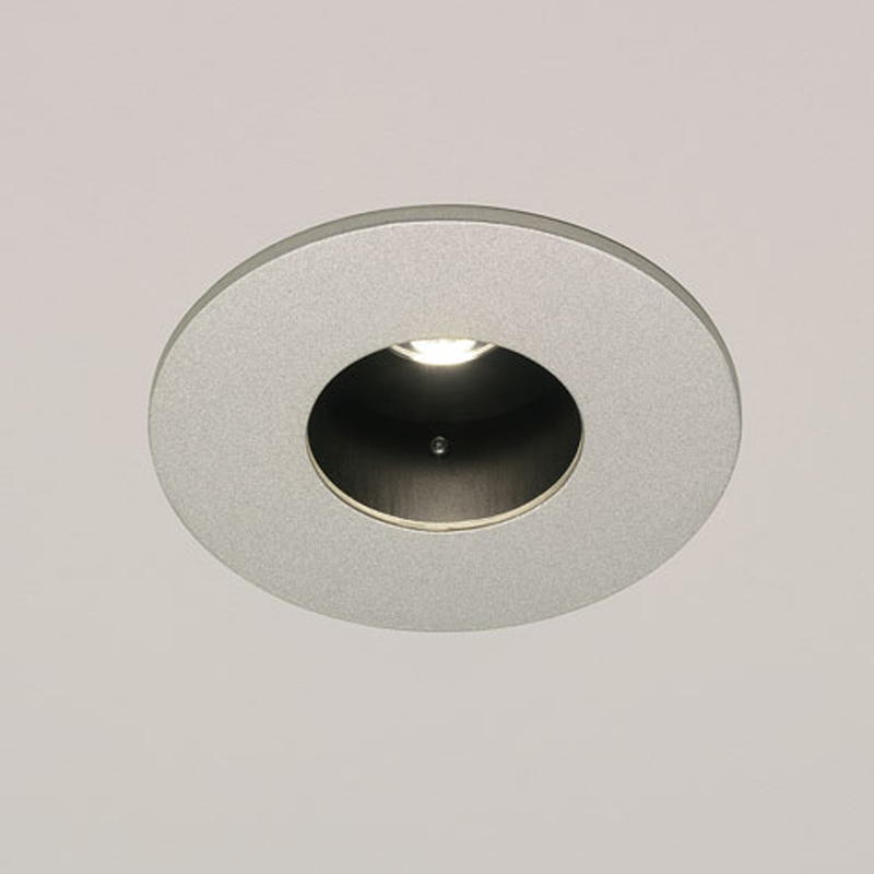 Astro Lenta Fixed Recessed 2700K LED Fixed Downlight, Painted Silver Finish - 5713