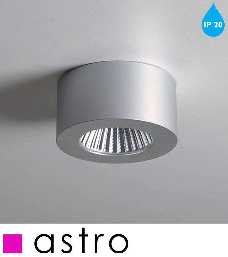Round Interior Wall Lights : Astro Samos Round LED IP20 2700k Interior Wall Light, Anodised Aluminium - 5718 from Easy Lighting