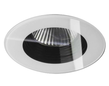 Astro Vetro Round Fire Rated 2700K Downlight, White Finish - 5733