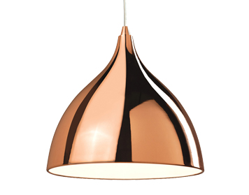 Firstlight Cafe 1 Light Pendant, Copper Finish - 5746CP
