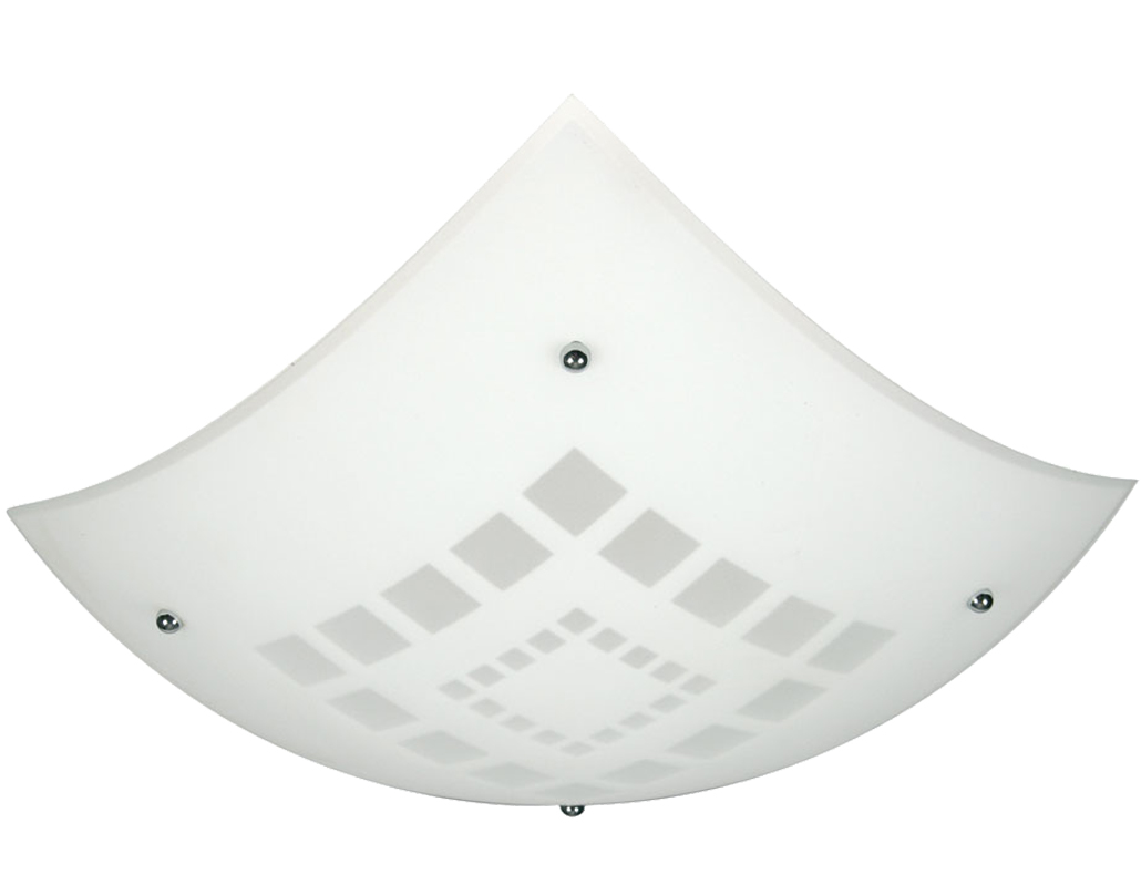 Oaks Lighting 'Squares' Non-Electric Glass Pendant - 580 A