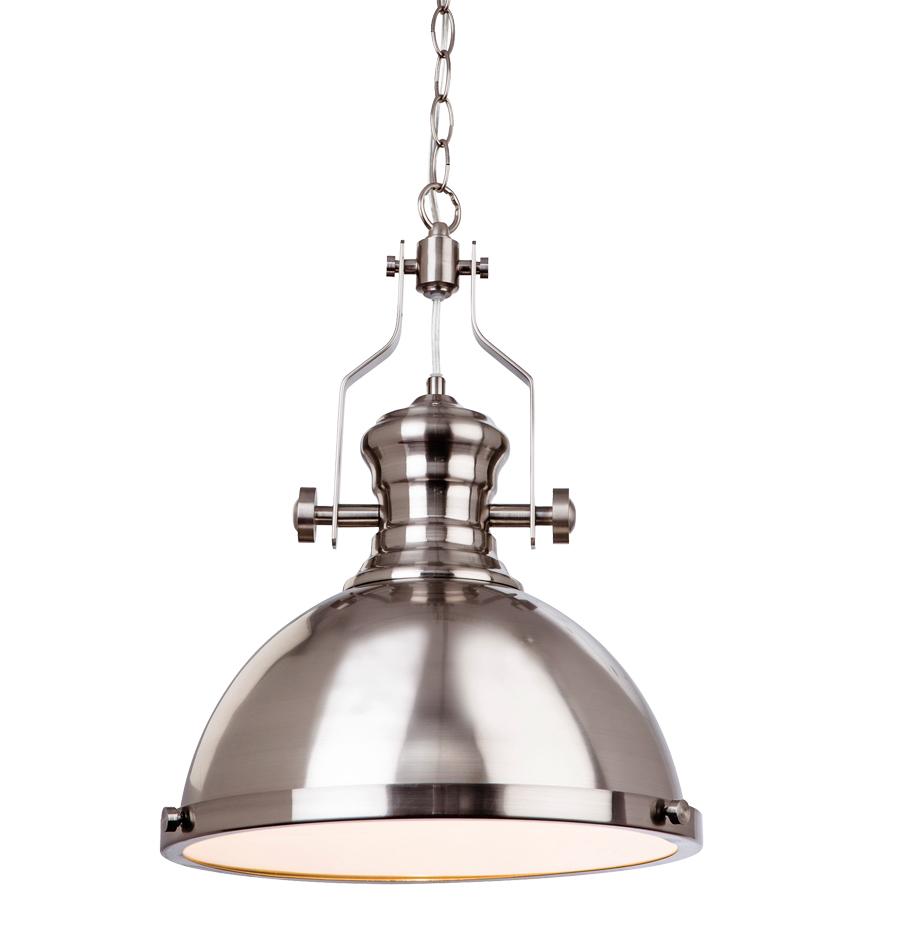 firstlight albion 1 light ceiling pendant light brushed