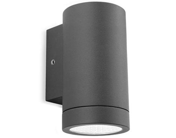 Firstlight Shelby LED 1 Light Outdoor Wall Light, Graphite Finish - 5937GP