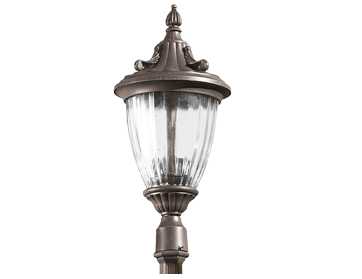 Leds C4 Galatea Decorative Outdoor Lamp *Head Only*, Oxide Brown Finish - 60-9151-18-E7