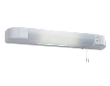 Bathroom strip lights from easy lighting firstlight shaver switched dual voltage low energy shaver light white finish 6004wh aloadofball Gallery