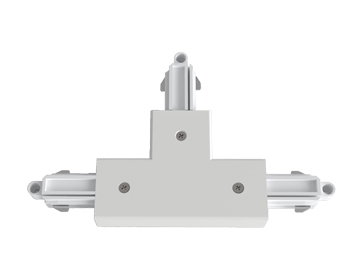 Astro T Connector Right Nearside Earth, Matt White Finish - 6020021