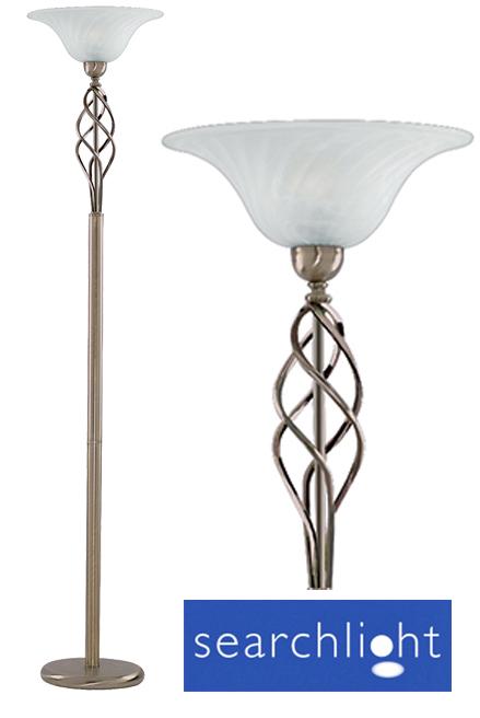 Searchlight zanzibar 1 light uplighter floor lamp antique brass searchlight zanzibar 1 light uplighter floor lamp antique brass 6021ab aloadofball Gallery