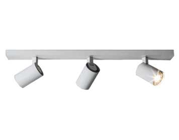 Astro Ascoli Triple Bar Spotlight, Textured White Finish - 6144
