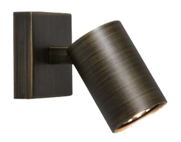 Astro Ascoli Single Spotlight, Bronze Finish - 6145