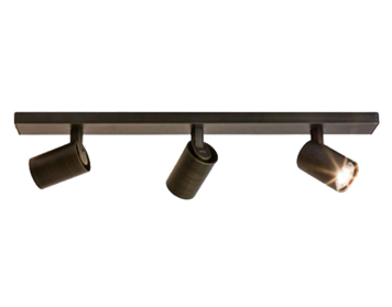 Astro Ascoli Triple Bar Spotlight, Bronze Finish - 6147