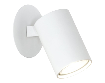 Astro Ascoli Single Recessed Spotlight, Textured White Finish - 6149