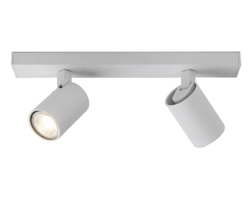 Astro Ascoli Twin Spotlight, Textured White Finish - 6159