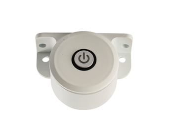 Endon Control Push Switch Accessory, White ABS plastic - 61660