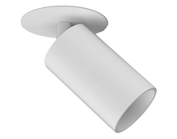 Astro Can 50 Recessed Spotlight, Matt White Finish - 6171