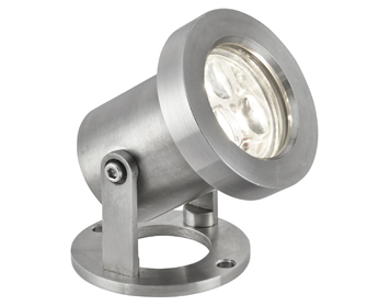 Searchlight LED Outdoor Spotlight, Stainless Steel Finish - 6223SS