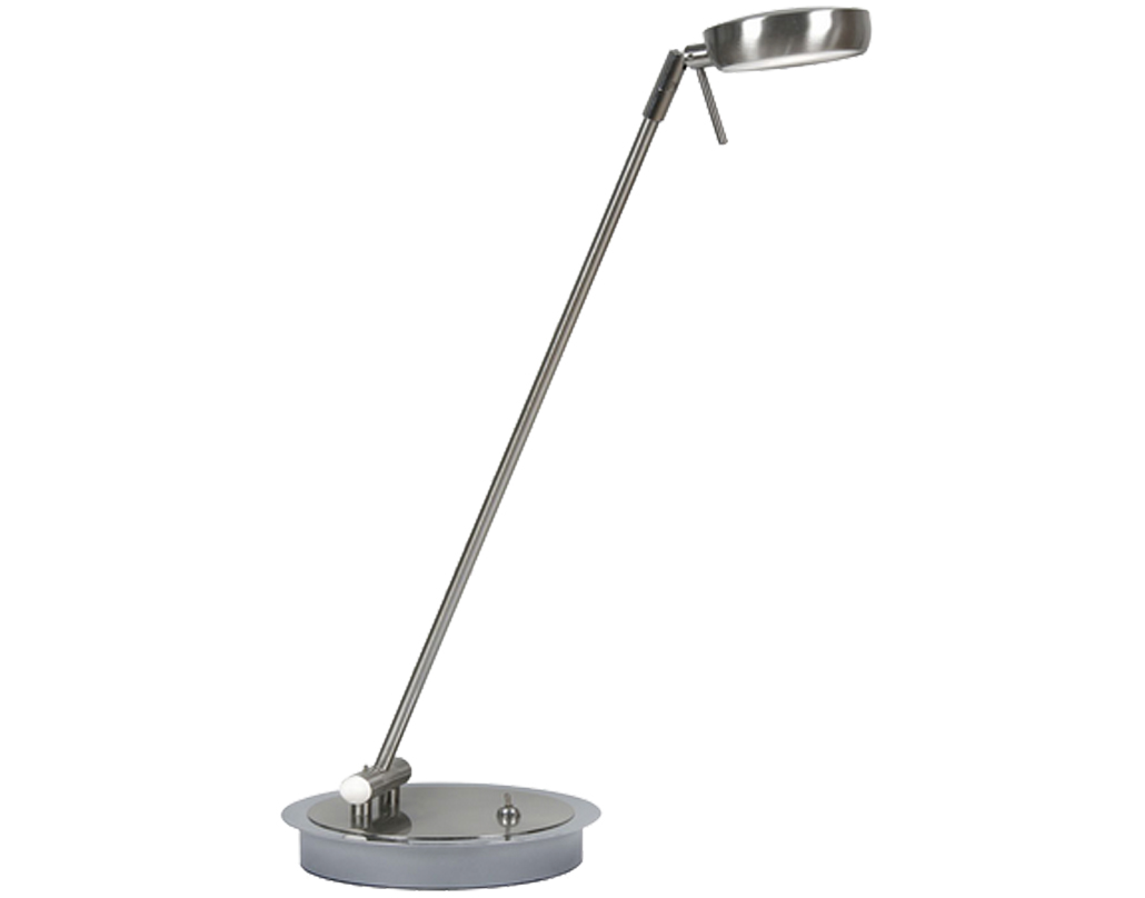 Oaks Lighting Orin LED Table Lamp, Antique Chrome - 6348 TL AC