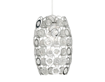 Oaks Lighting Tulsa Non-Electric Ceiling Pendant, Clear Finish - 6401 CL