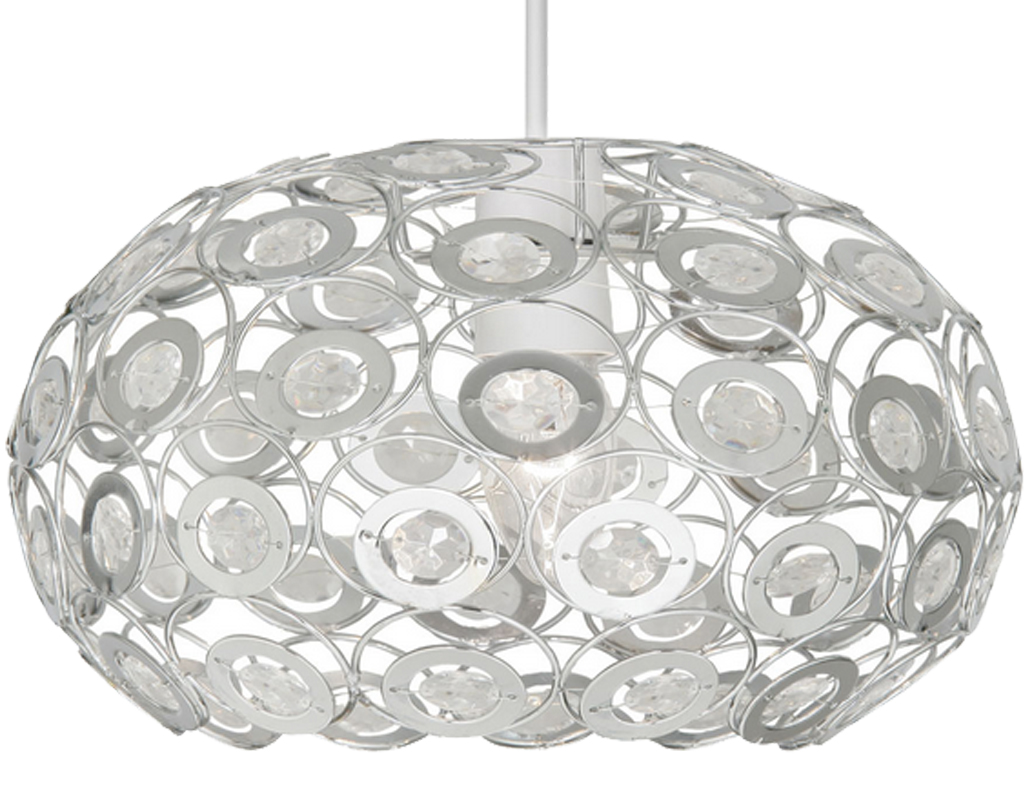 Oaks Lighting 'Tulsa' Non-Electric Ceiling Pendant, Clear - 6403 CL