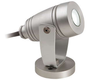 Firstlight Waterproof LED Spotlight, Aluminium - 6403AL