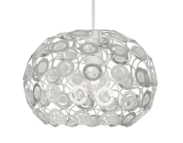 Oaks Lighting Tulsa Non-Electric Ceiling Pendant, Clear Finish - 6403 CL