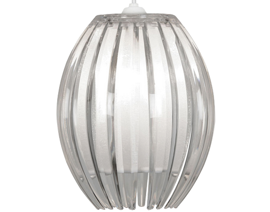 Oaks Lighting 'Shimna' Small Non-Electric Ceiling Pendant, Clear - 669 S CL