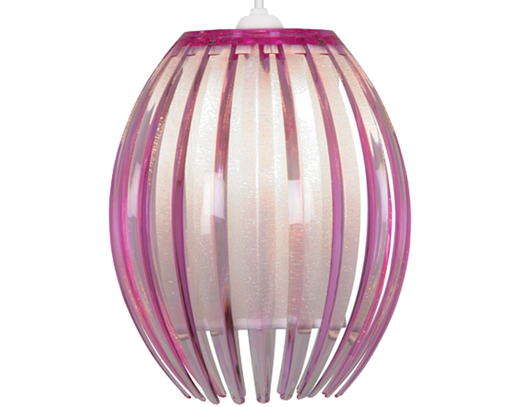 Oaks Lighting 'Shimna' Small Non-Electric Ceiling Pendant, Plum - 669 S PL
