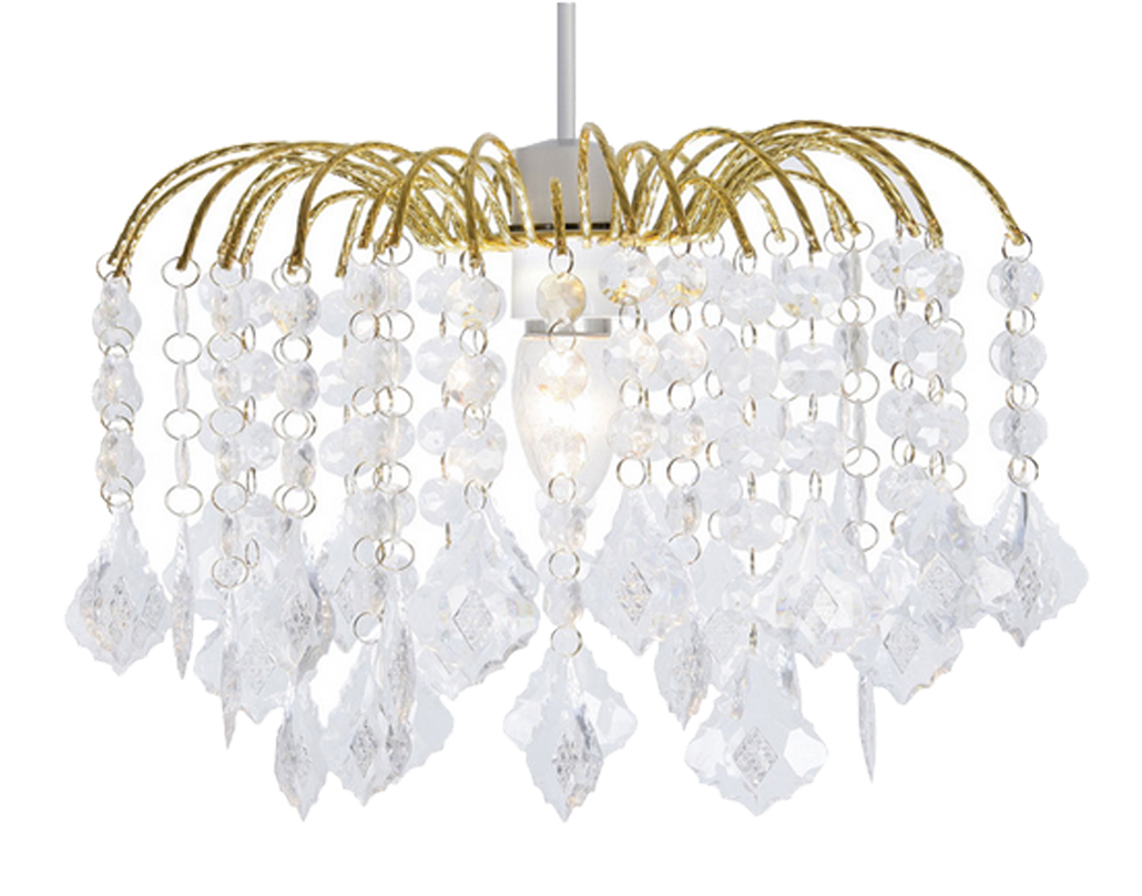 Non electrical ceiling light shades from easy lighting oaks lighting dacia small non electric ceiling pendant polished brass 695 aloadofball Images