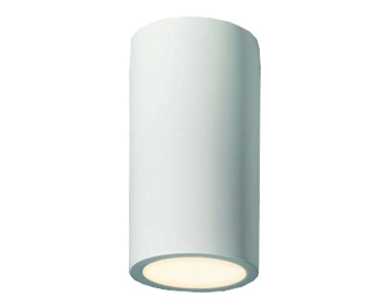 Astro Osca 200 Round Ceiling Downlight, Plaster Finish - 7011