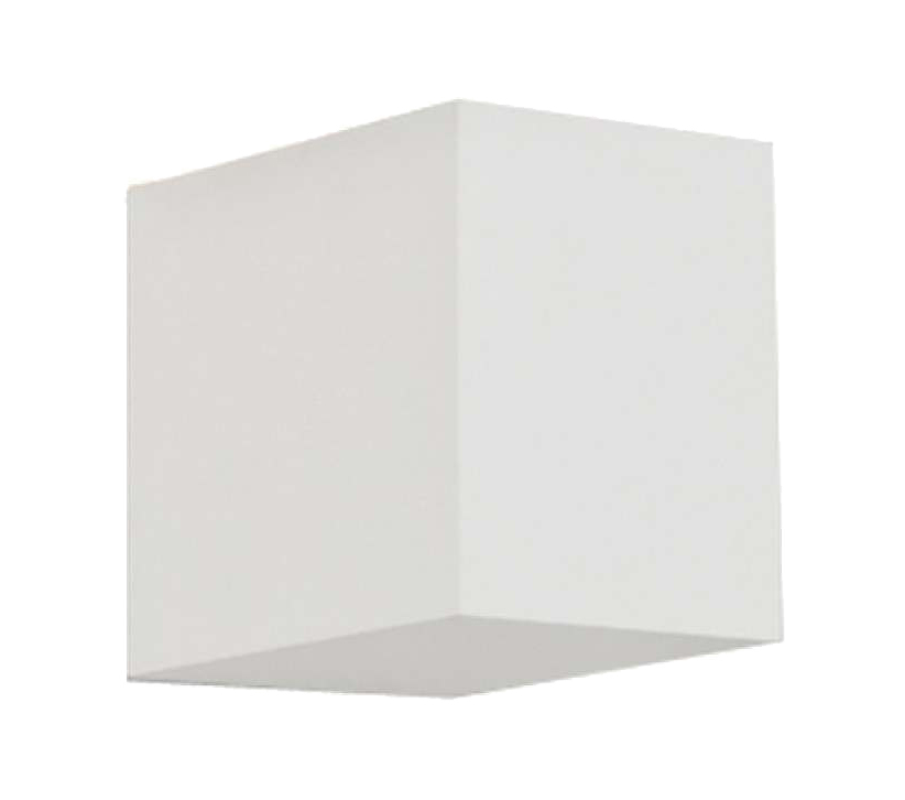 Astro Parma 100 LED Wall Light, Plaster Finish - 7019 None