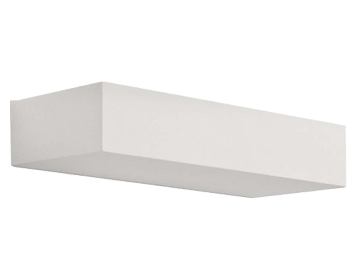 Astro Parma 200 Wall Light, Plaster Finish - 7038