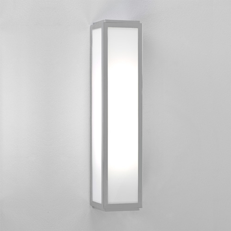 Astro Mashiko 360 Bathroom Wall Light, Painted Silver - 7043