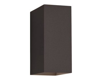 Astro Oslo 160 Bathroom Up & Down Wall Light, Textured Black Finish - 7061