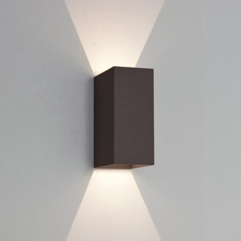 Astro 39 oslo 160 39 ip65 led exterior up down wall light for Applique exterieur up down