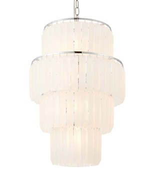Endon u0027Selinau0027 10 Light Ceiling Pendant Light Chrome Plate u0026 Frosted Glass -  sc 1 st  Easy Lighting & Endon u0027Strasbergu0027 10 Light Chandelier Chrome Plate u0026 Clear ... azcodes.com