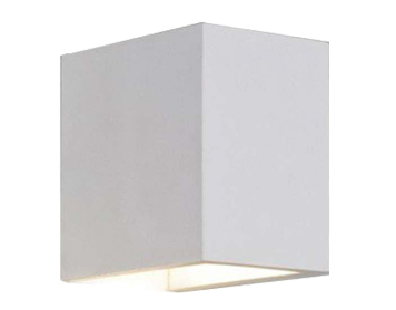 Astro Parma 110 Wall Light, Plaster Finish - 7076