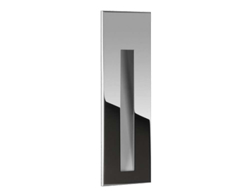 Astro Borgo 55 Recessed Led Wall Light, Polished Stainless Steel Finish - 7089