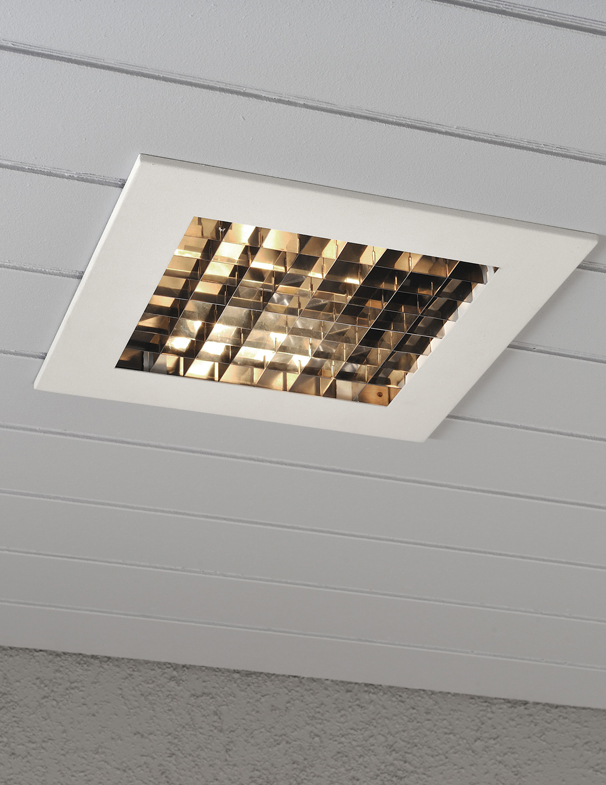 Konstsmide recessed ip23 1 light outdoor ceiling light konstsmide recessed ip23 1 light outdoor ceiling light lacquered white finish surround mozeypictures Choice Image