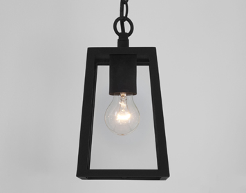 Astro Calvi 215 Ceiling Pendant Light, Textured Black Finish - 7112