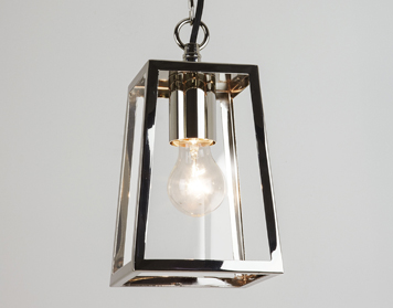 Astro Calvi 215 Ceiling Pendant Light, Polished Nickel Finish - 7113