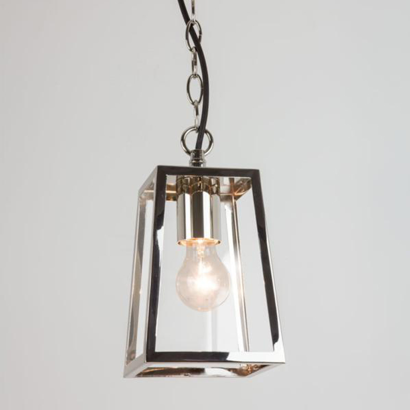 Lantern pendants from easy lighting astro calvi pendant ip23 exterior ceiling pendant light polished nickel clear glass mozeypictures Choice Image