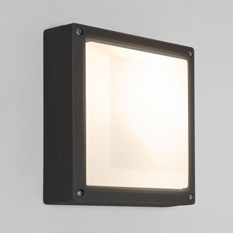 White Square Wall Lights : Black Outdoor Wall Lights from Easy Lighting