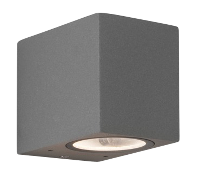 Astro Chios 80 Outdoor Wall Light, Textured Painted Silver Finish - SALE-7125 Clearance