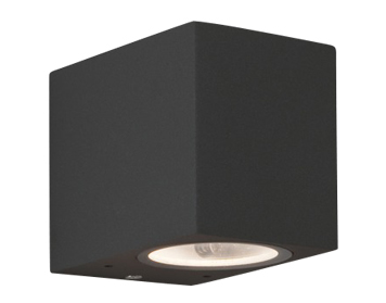 Astro Chios 80 Bathroom Wall Light, Textured Black Finish - 7126
