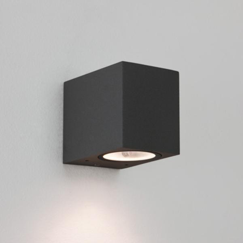 Astro chios 80 ip44 outdoor wall light painted silver 7125 from astro chios 80 ip44 outdoor wall light black 7126 aloadofball Image collections